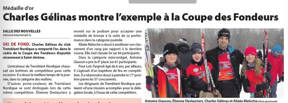 Coupe Fondeurs 2016